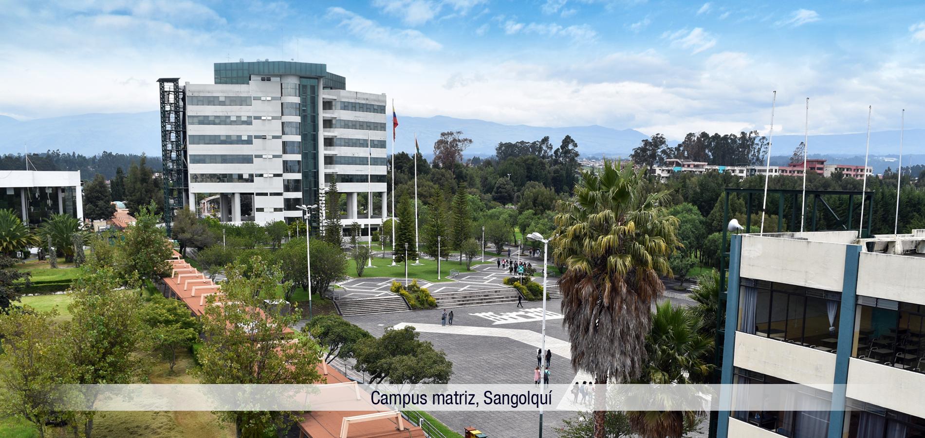 Universidad de las Fuerzas Armadas ESPE , Campus Sangolquí